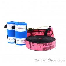 Elephant Slackline Addict Flash Line Set 15m Slacklineset-Pink-Rosa-15
