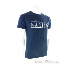 Martini Motivation Herren T-Shirt-Blau-S
