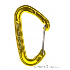 Climbing Technology Fly Weight Wire Carabiner-Gelb-One Size