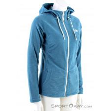 The North Face Mezzaluna FLL ZP Damen Sweater-Blau-S