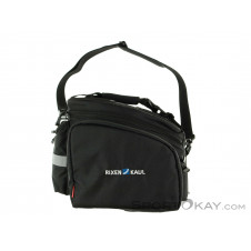 Klickfix Rackpack 2 Plus Gepäckträgertasche-Schwarz-One Size