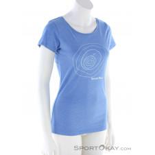 Sportokay.com Zwoatausenda Damen T-Shirt-Blau-S