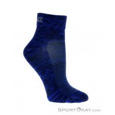 Lenz Performance Quarter Tech 3 Paar Socken Set-Blau-35-38
