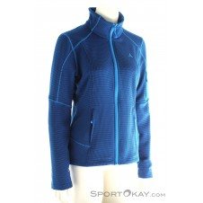 Schöffel Walsertal 1 Fleece ZipIn Damen Outdoorsweater-Blau-40