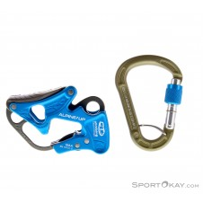 Climbing Technology Alpine Up Kit Sicherungsgerät-Blau-One Size