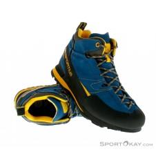 La Sportiva Boulder X Mid Herren Wanderschuhe Gore-Tex-Blau-44
