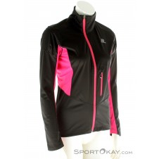 Salomon Equipe SSH Damen Outdoorjacke-Schwarz-M