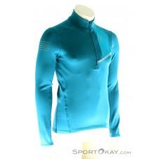 Salomon Fast Wing Mid HZ Herren T-Shirt-Blau-S