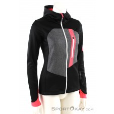 Ortovox Fleece Loden Hoody Damen Tourensweater-Schwarz-M