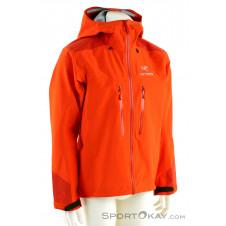Arcteryx Alpha AR Jacket Herren Outdoorjacke Gore-Tex-Orange-XL