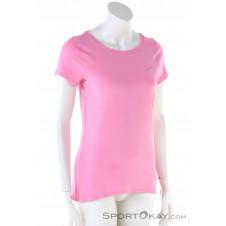 Under Armour HeatGear Damen T-Shirt-Pink-Rosa-XS