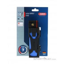 Abus Grip Bordo 5700 + Halterung Fahrradschloss-Blau-One Size