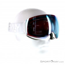 Oakley Flight Deck XM Retro Prizm Skibrille-Weiss-One Size