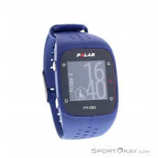 Polar M430 HR GPS-Sportuhr-Blau-M/L