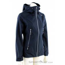 CMP Fix Hood Jacket Damen Outdoorjacke-Blau-34