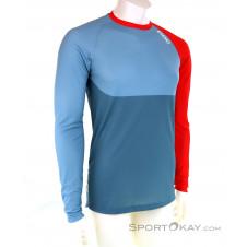 POC MTB Pure LS Jersey Bikeshirt-Blau-S