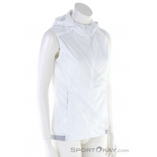 Salomon Agile Wind Vest Damen Outdoorweste-Weiss-XS