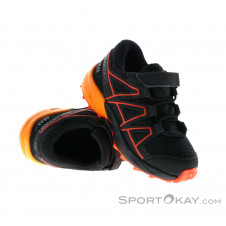 Salomon Speedcross CSWP Kinder Outdoorschuhe-Schwarz-27