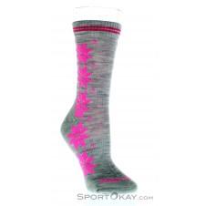 Kari Traa Vinst Wool Sock 2er-Pack Damen Socken-Pink-Rosa-36-38