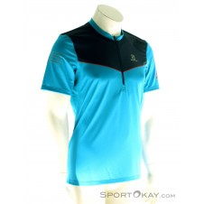 Salomon Fast Wind HZ SS Herren T-Shirt-Blau-S