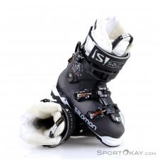Salomon QST Custom Heat Damen Skischuhe-Schwarz-26,5