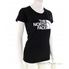 The North Face S/S Easy Damen T-Shirt-Schwarz-M