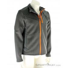 Spyder Linear Full Zip Mid Weight Core Herren Sweater-Grau-S