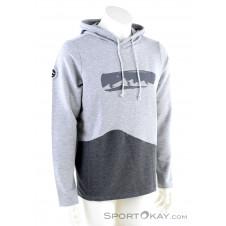 Chillaz Mello Mountain Chain Herren Sweater-Grau-M