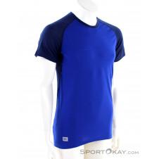 Mons Royale Temple Tech Herren T-Shirt-Blau-L
