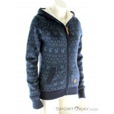 Alprausch Warmi Lisa Damen Freizeitsweater-Blau-S