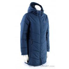 Jack Wolfskin Svalbard Coat Damen Freizeitmantel-Blau-S