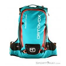 Ortovox Free Rider 20l S Avabag Airbagrucksack o. Kartusche-Blau-20
