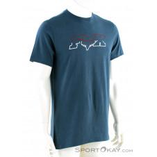 Fox Duel Head Basic Tee Herren T-Shirt-Blau-S
