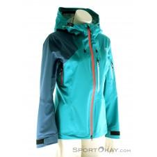 Ortovox 3L Ortler Jacket Damen Tourenjacke-Blau-S