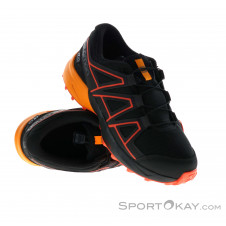 Salomon Speedcross CSWP Kinder Outdoorschuhe-Schwarz-38
