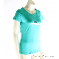 Chillaz Gandia Fell The Spirit Damen Shirt-Blau-34