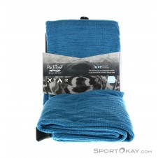 Packtowl Luxe Beach Microfaserhandtuch-Blau-One Size