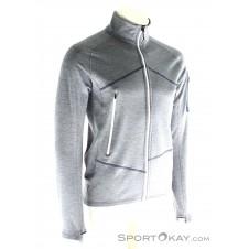 Ortovox Fleece Light Melange Jacket Herren Outdoorsweater-Grau-M