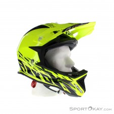 Airoh Fighters Trace Yellow Gloss Downhill Helm-Gelb-L