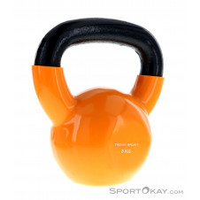 Trendy Vinyl 8kg Kettlebell-Orange-8