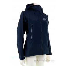 Arcteryx Beta SL Hybrid Jacket Damen Outdoorjacke Gore-Tex-Blau-S