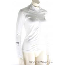 Salomon Lightning Pro Mid Damen Laufsweater-Weiss-XS