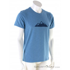 Chillaz Tyrol Mountain Herren T-Shirt-Blau-XXL
