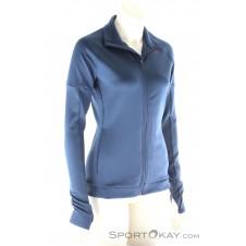 adidas Top Tracktop Damen Trainingssweater-Blau-L