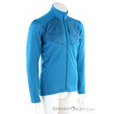 Salomon Grid FZ Mid Herren Skisweater-Blau-M