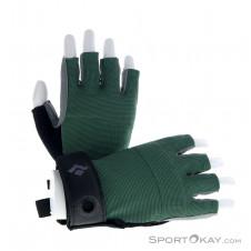 Black Diamond Crag Half Finger Damen Halbfinger Handschuhe-Blau-S