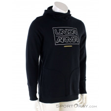 Under Armour Baseline Fleece Hoodie Herren Sweater-Schwarz-M
