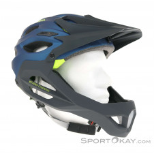 Alpina King Carapax Bikehelm-Blau-57-62