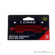 Lezyne E-Bike Super Bright STVZO E12 Fahrradbeleuchtung-Schwarz-One Size
