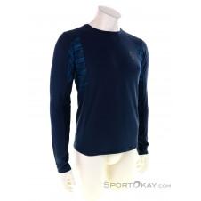 Scott Trail Run LS Herren Shirt-Blau-S